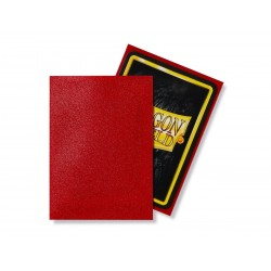Matte Ruby (100 Sleeves) - Dragon Shield Standard Sleeves