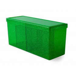 4 Compartment Storage Box - Emerald