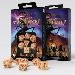 Call of Cthulhu: Masks of Nyarlathotep Dice Set (7)