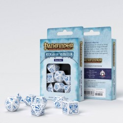 Pathfinder Reign of Winter Dice Set (7)