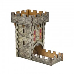 Color Medieval Dice Tower