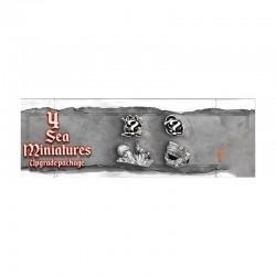 Skull Tales - 4 Minis de mar