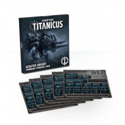 Acastus Knight Command Terminal Pack (Eng)