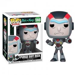 POP Rick & Morty Purge Suit Rick serie 6