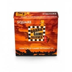 Square Non-Glare (69x69mm) - 50 Pcs
