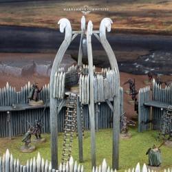 M-E Sbg: Rohan Watchtower & Palisades