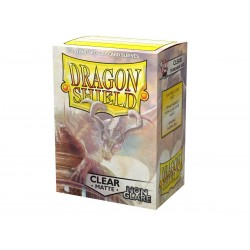 Clear Matte Non-Glare (100 Sleeves) - Dragon Shield Standard Sleeves