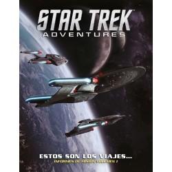 Star Trek Adventures: Estos Son Los Viajes… Vol 1