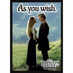Standard Sleeves - Princess Bride: As You Wish (50 Sleeves)