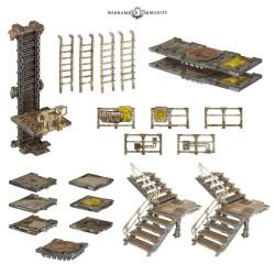 Zone Mortalis: Platforms & Stairs
