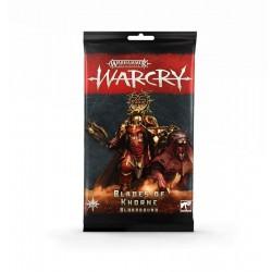 Warcry: Blades Of Khorne Bloodbound Cards