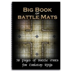 """Big Book of Battle Mats (A4 11 3/4"""" x 8 3/4"""")"""