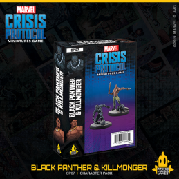 Crisis Protocol Black Panther and Killmonger