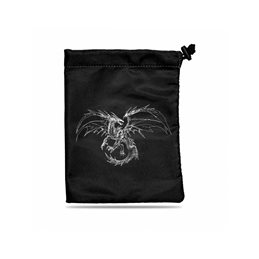 Bolsa para Dados Treasure Nest: Black Dragon
