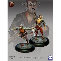 Wasapu & Senpu(models from the starter set)