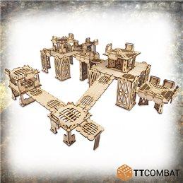 foam tray set for Warhammer Underworlds: Nightvault core game box