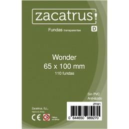 Fundas Zacatrus Wonder (65 mm X 100 mm) (110 uds)