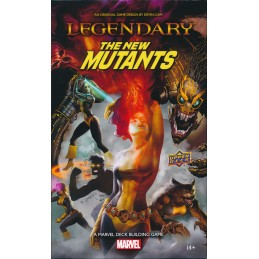 Legendary: New Mutants A Marvel Deck Building Game Expansion