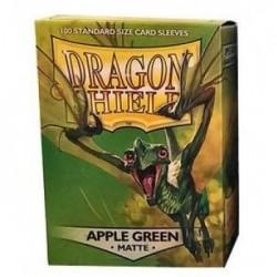 Matte Apple Green (100 Sleeves) - Dragon Shield Standard Sleeves