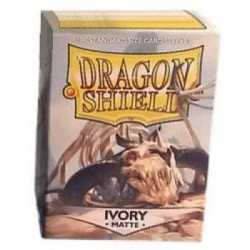 Matte Ivory (100 Sleeves) - Dragon Shield Standard Sleeves