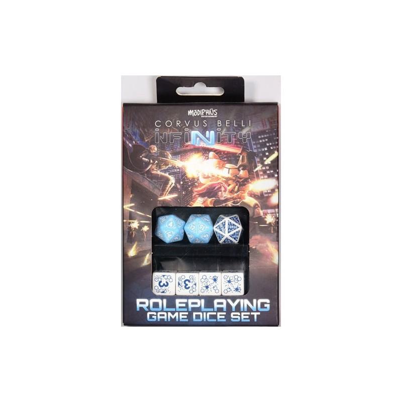 Infinity RPG Dice set PanOceania