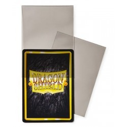 Clear/Smoke (100 Sleeves) Perfect Fit Sideloading - Dragon Shield Standard Sleeves