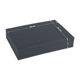 Full-size 72mm deep raster foam tray