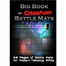 Big Book of CyberPunk Battle Mats