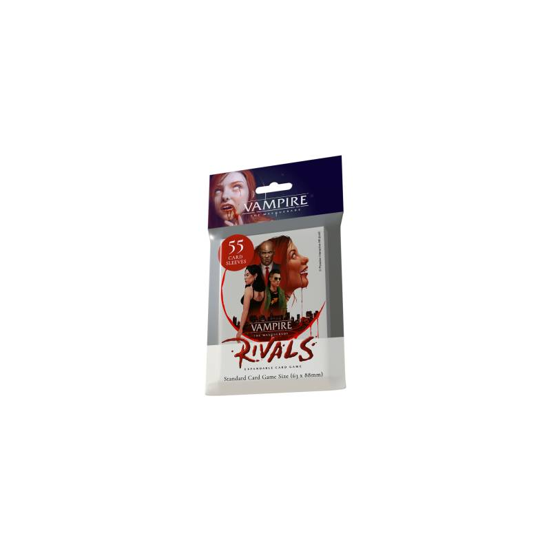 Rivals Expandable Card Game Library Deck Sleeves (55 Sleeves)