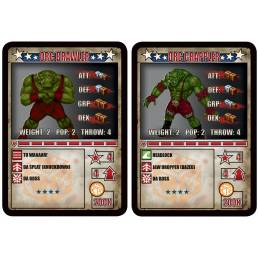 Kings of War Vanguard: Equipment Cards