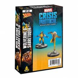 [PREORDER] Crisis Protocol Wolverine & Sabretooth