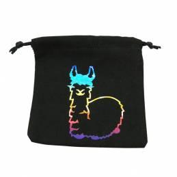 Fabulous Llama Dice Bag