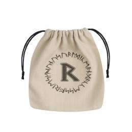 Runic Beige & Black Dice Bag