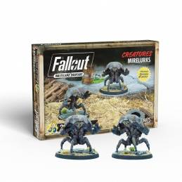 Fallout Wasteland Warfare - Créatures : Mirelurks