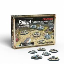 Fallout Wasteland Warfare - Créatures : Mirelurk Hatchling & Eggs
