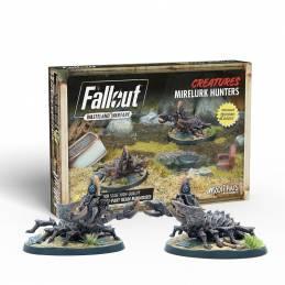 Fallout Wasteland Warfare - Créatures : Mirelurk Hunters