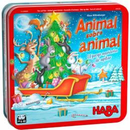 Animal sobre animal – El juego navideño de apilar