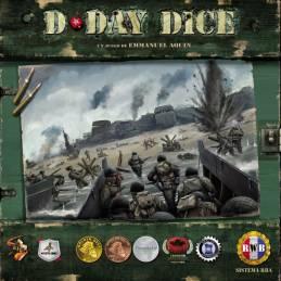 PACK: D-Day Dice: 2ª Edición + Jefe Supremo + Leyendas