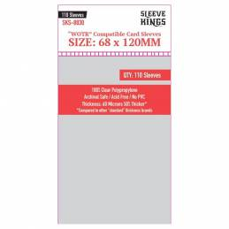Sleeve Kings WOTR Perfect Compatible Sleeves (68x120mm)