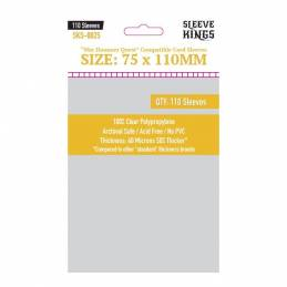 Sleeve Kings War Hammer Quest Compatible Sleeves (75x110mm)