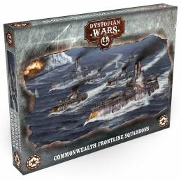 Dystopian Wars: Commonwealth Frontline Squadrons