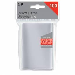 Lite Standard European Board Game Sleeves 59mm X 92mm 100ct