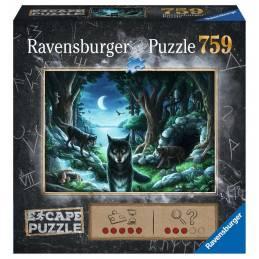 Escape puzzle - La manada de lobos