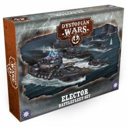 Dystopian Wars: Elector Battlefleet Set