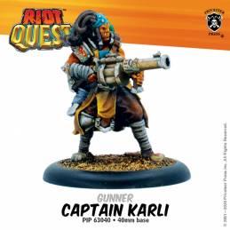 Riot Quest Captain Karli