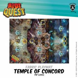 Temple of Concord Fabric Playmat