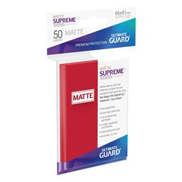 Fundas Supreme UX Mate Color Rojo (50 unidades)