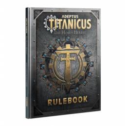 Adeptus Titanicus: The Horus Heresy – Rulebook (Inglés)
