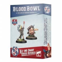 BLOOD BOWL Árbitros poco imparciales Elf y Dwarf