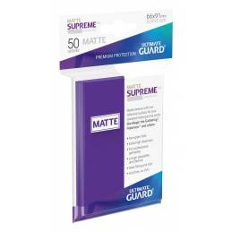 Fundas Supreme UX (50 Uds) Mate Color Violeta